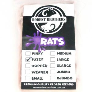 Fuzzy Rats 50 Pack (10-29 grams)