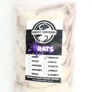 Rats Medium 5 Pack (100-149 grams)